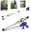 """2xFoldable Pick Up Tool Grabber Reacher Stick Grab Extend Reach 32/"""" inch"""