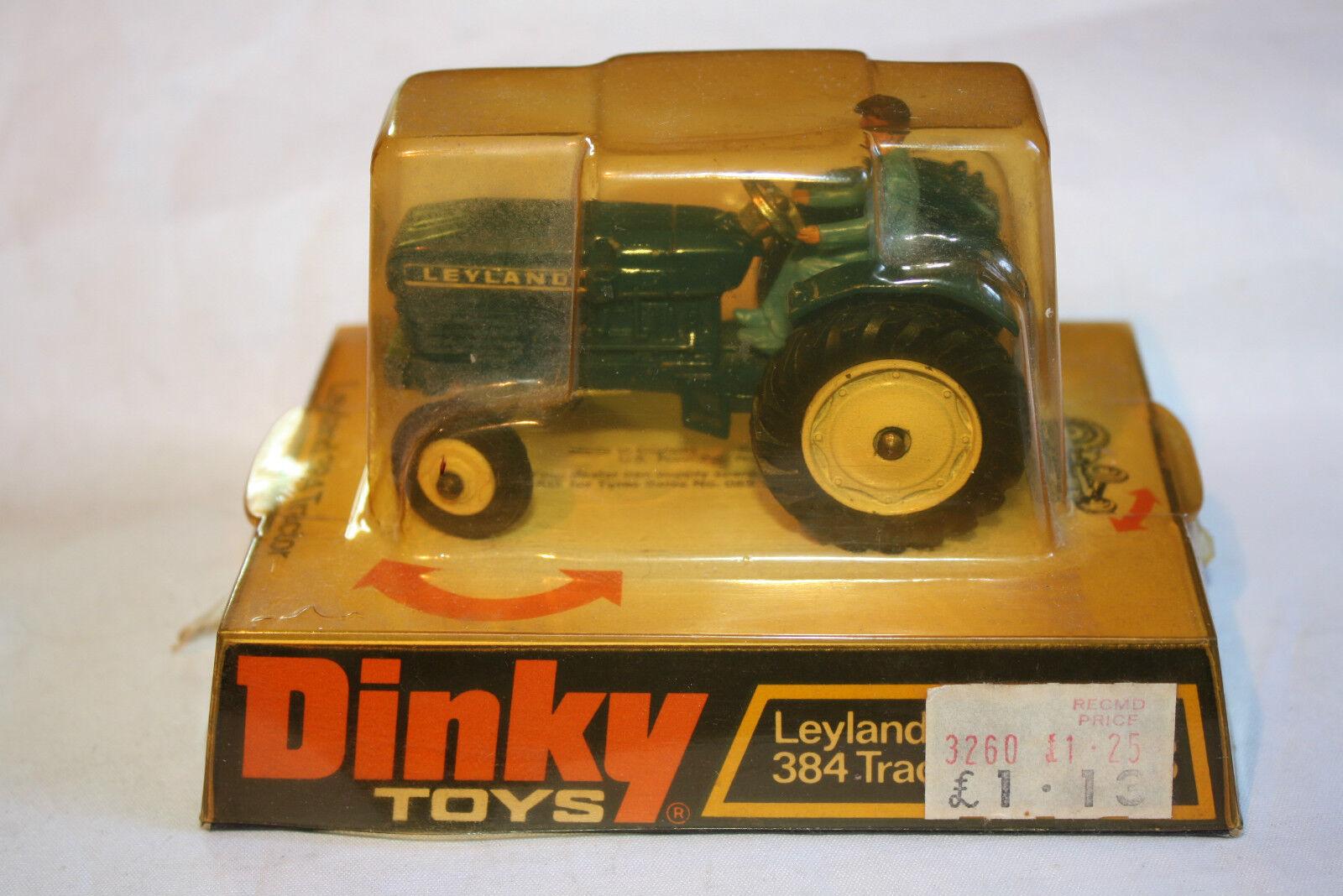 Dinky 308 Leyland 384 Tractor, Excelente Estado Con Buena Caja Original