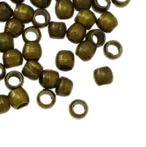 350 embouts à serrer Quetschröhrchen 2 mm environ bronze perles sertissure Best m68