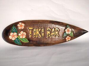 Tiki Bar wall hanging