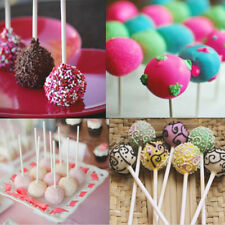 100pcs/bag 10cmChocolate Cake Cookie Lollipop Making Candy Sucker Sticks