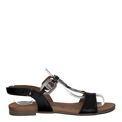 Tamaris 1 1 28163 24 094 Schuhe Damen Leder Sandale Kim