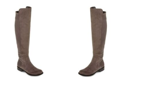WOMENS LIZ CLAIBORNE PAIGE SUEDE BOOTS MULTIPLE COLORS/&SIZES NEW IN BOX MSRP$89