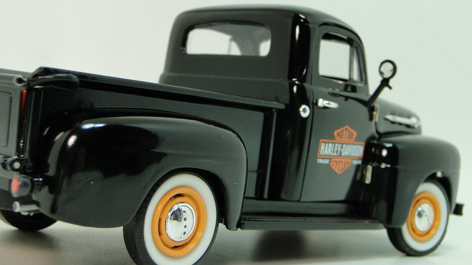 1 Ford Pickup F 1950 Sport camión Vintage Antiguo Clásico carrusel Blac coche 18