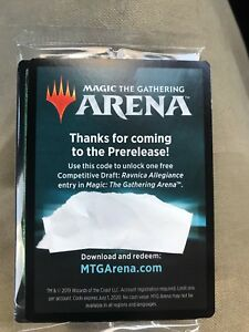 Details about Magic the Gathering Ravnica Allegiance Draft Code Magic Arena  Emailed 1/ Account