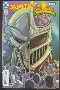 JUSTICE-LEAGUE-Mighty-Morphin-POWER-RANGERS-4-of-6-2017-DC-Comics-VF-NM