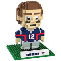 Brxlz Tom Brady 12 England Patriots 3-d Construction Toy 421 Pcs