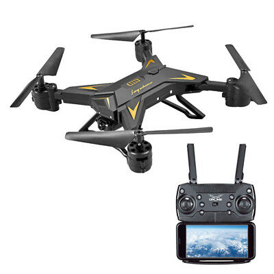 Foldable KY601S WIFI FPV RC Quadcopter Drone 1080P HD Camera Selfie Drone Black