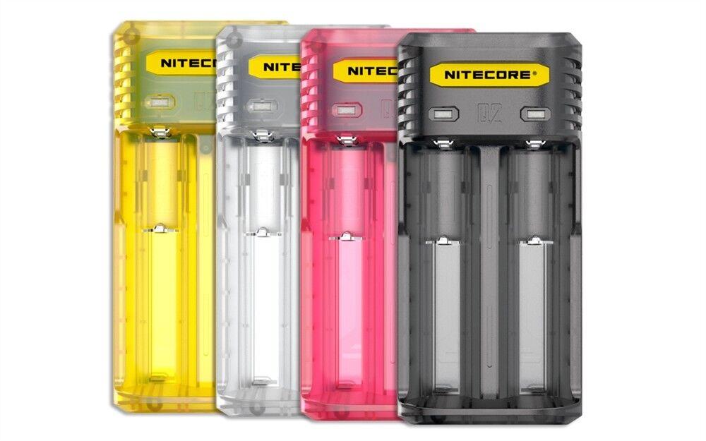 **BRAND NEW** NITECORE Q2 INTELLICHARGER Li-Ion/IMR