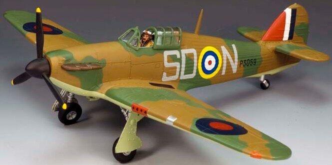 King & Country Royal Air Force RAF007-01 Hawker Hurricane MK1 SDN MIB