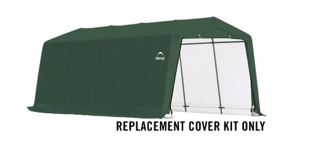 ShelterLogic Replacement Cover Kit for 10x20x8 Shed 14.5oz ...