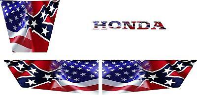 Honda Pioneer 1000-5 Reflective DONT TREAD ON ME Flag Hood Doors tailgate Decals