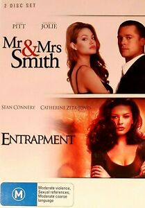 Mr & Mrs Smith + Entrapment : 2 Disc : NEW DVD : *Rare OOP*