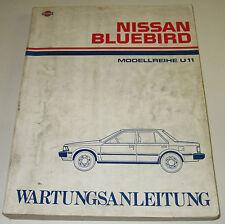 Werkstatthandbuch Nissan Bluebird U11 / U 11 Stand März 1984!