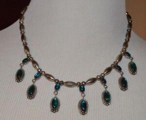 Necklace-Marked-034-E-K-Sterling-034