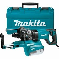 Makita Hr2661 1 Avt Rotary Hammer Accepts Sds Plus Bits Withhepa Dust Extractor