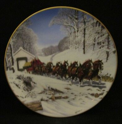 budweiser clydesdale collection on ebay