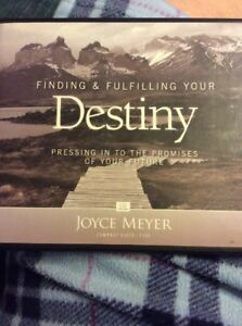 Joyce Meyer Finding and Fulfilling Your Destiny 4 Cd Set