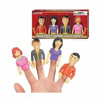 Ventriloquist Dummy Finger Puppets - Set Of 4 Free Shipping