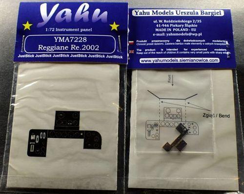 Yahu Models Yma7228 1//72 Pe Reggiane Re.2002 Quadro Strumenti
