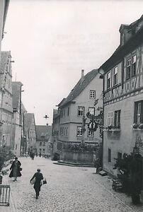"""ALLEMAGNE c. 1940 - Commerces """"Fontaine Déesse"""" Rothenburg - DIV8388 eRu8c29j-09095525-142312218"""