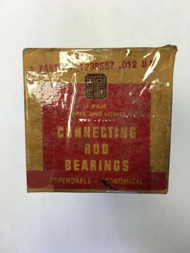 1934-1956 Dodge Connecting Rod Engine Bearings for Flathead Six .012