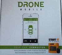 Compustar Rsd-3400s Smartphone Remote Car Starter Kit W\ Dr3400 & Ft7200s