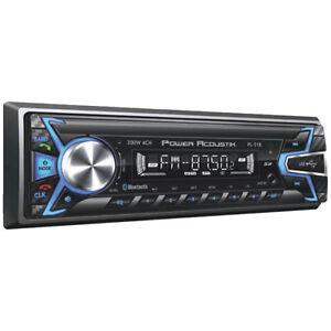 Power Acoustik PL51B AM/FM/USB/SD/Bluetooth Mechless Car Stereo