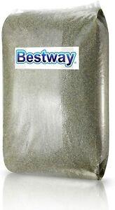 Bestway Sabbia di vetro per pompa filtro piscina Bestway 25 Kg 0.5 a 0.8 mm