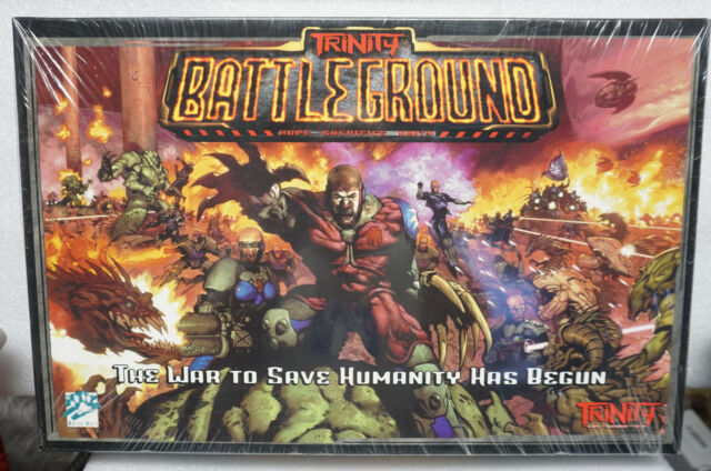 Trinity Battleground The War to Save Humanity Has Begun (White Wolf Boardgame)