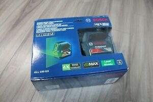 Bosch-GLL-100-GX-Green-Beam-Self-Leveling-Cross-Line-Laser