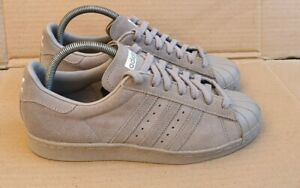 Details about RARE MI ADIDAS SUPERSTAR 80's TRAINERS SIZE 5.5 UK TRIPLE GREY CUSTOM DESIGNED