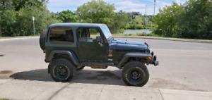 1998 Jeep TJ Wrangler Sahara