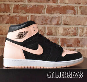 Nike-Air-Jordan-1-Retro-High-OG-Crimson-Tint-Black-Pink-555088-081-Size