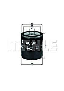 MAHLE Oil Filter For FIAT ALFA ROMEO CHRYSLER LANCIA MASERATI ZASTAVA Sw 1109W7