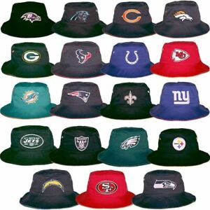 NFL Bucket Boonie Fisherman's Hat Cap All 32 Football Teams We Sell Quality Hats