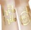 HEN DO GOLD BRIDE TRIBE BRIDE SQUAD DARE CARDS HENNA TEMPORARY TATTOOS