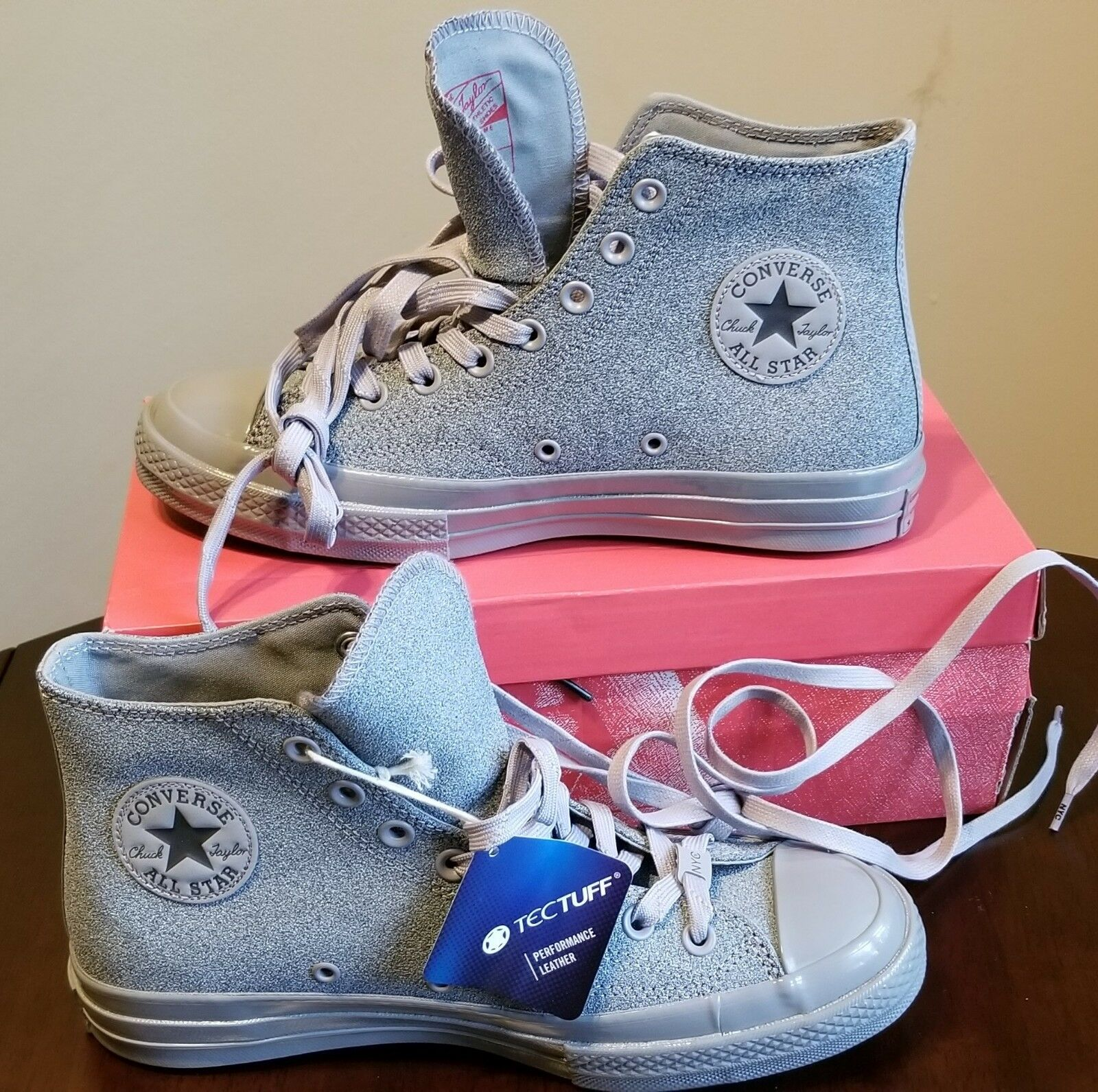 NEW AUTHENTIC CONVERSE STAR CHUCK TAYLOR ALL STAR CONVERSE '70  HI  Schuhe US 8 5a0db5