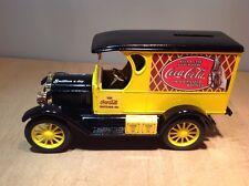 COCA COLA DIE CAST COIN BANK - 1923 CHEVY PANEL TRUCK - ERTL #9432