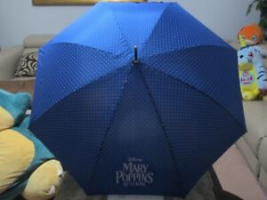 Mary-Poppins-Returns-2018-RAIN-UMBRELLA-Official-Genuine-Movie-Promo-NEW