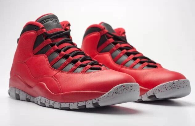 6247faf11364 Nike Air Jordan 10 X Retro 30th Bulls Over Broadway Red Size 11 for sale  online