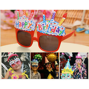ffe303872dc0 Image is loading Funny-Party-Glasses-Happy-Birthday-Party-Favors-Costume-