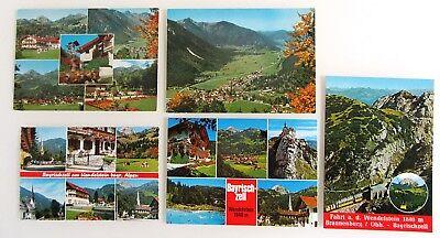 5x Bayrischzell Oberbayern Ak Lot Ansichtskarten Ungelaufen Ak Ab/nach ~1970