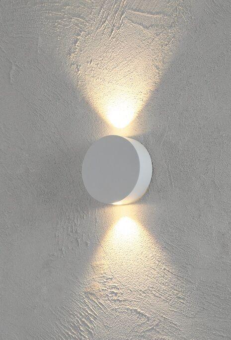 Escale, Sun, LED, Wandleuchte, Designerleuchte, neu, OVP, mattweiß, Farbfilter