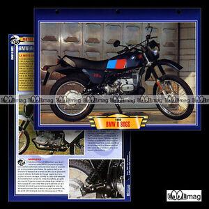 #097.09 Fiche Moto BMW R 80 GS 1980-1987 Motorrad / Motorcycle Card - France - État : Occasion: Objet ayant été utilisé. Consulter la description du vendeur pour avoir plus de détails sur les éventuelles imperfections. ... - France