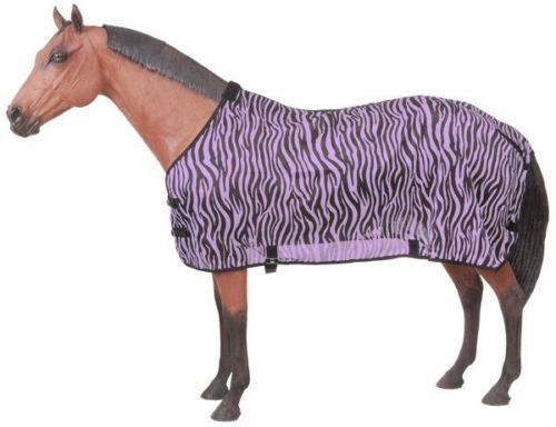 75 INCH PURPLE NEW TOUGH1 ZEBRA MESH LIGHT WEIGHT FLY PredECTIVE SHEET HORSE