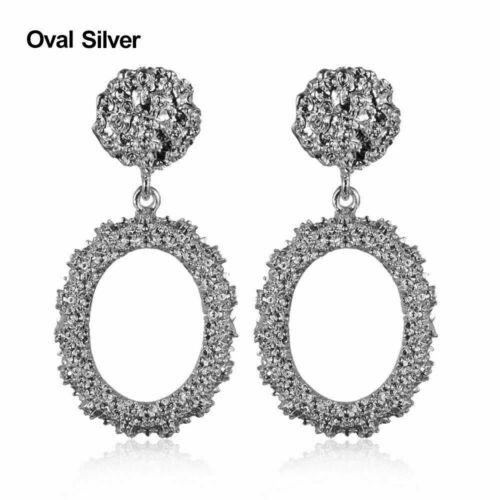 Metal Earring Hanging Jewelry Vintage Earrings Fashion Geometric Statement LU9