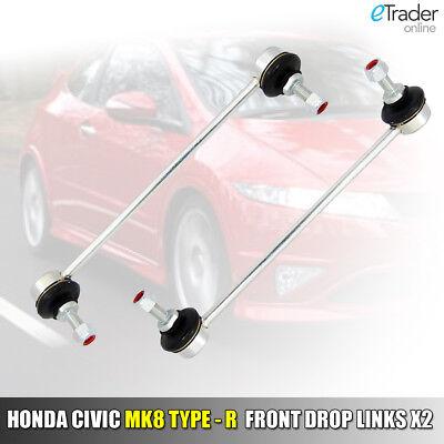 2 FOR HONDA CIVIC MK8 2006-2012 FRONT PAIR STABILISER DROP LINKS ANTI ROLL BAR