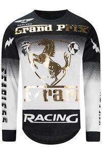 a7cf0e612 New Men Grand Prix Long Sleeve T-Shirt Racing GT Longline Exotic ...