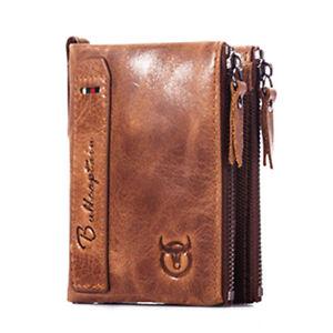 BULLCAPTAIN-BIFOLD-Portafoglio-uomo-in-pelle-di-marca-vintage-portafogli-in-Z2P1